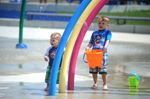 lakefront promenade splash pad