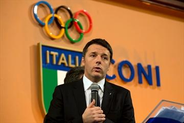 Italian PM Renzi announces Rome 2024 Olympic bid-Image1