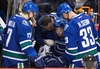 Hansen leaves game after collapsing on bench-Image1