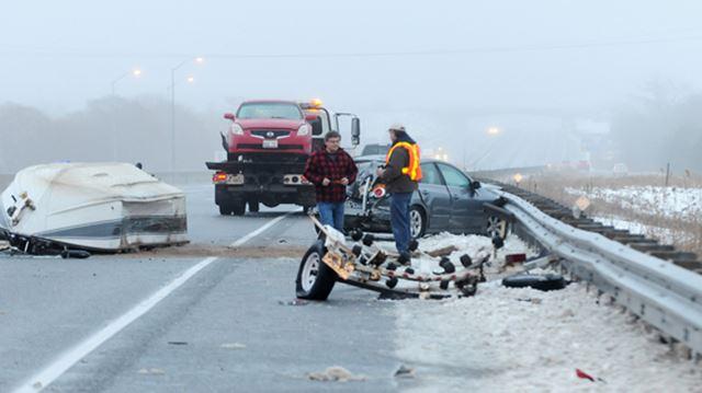 Multi vehicle collision