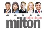 Milton Federal Election