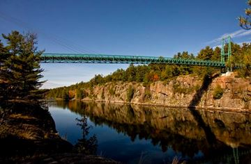 French River gorge