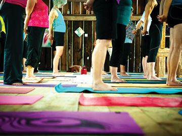OUTDOOR YOGA FESTIVAL ON THE FRINGE