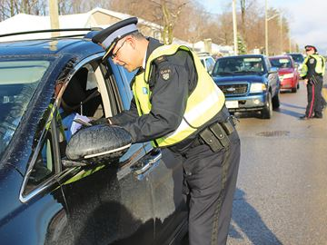 Police join forces to kick off holiday RIDE campaign in Midland