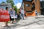 immigration detention rally