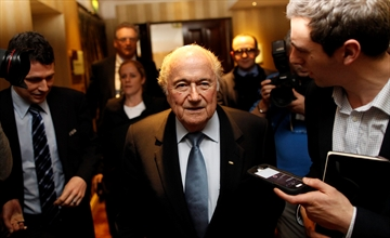 Blatter concerned by Russian soccer racism before World Cup-Image1