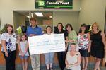 Thornbury TD raises $1,200 for SickKids