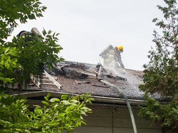 Pot on stove blamed for house fire