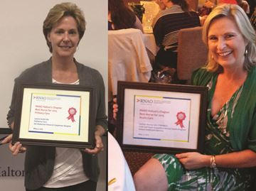 Pair of nurses recognized as 2015 Nurse of the Year by RNAO Halton