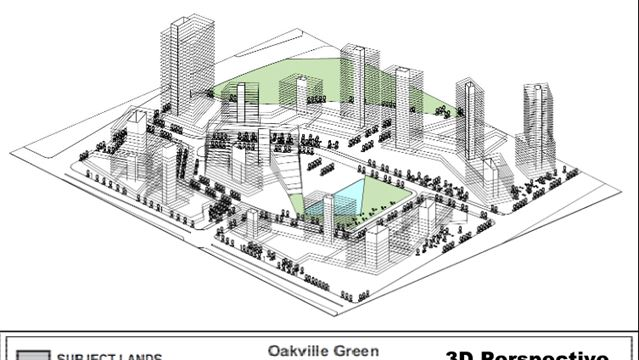 Proposed plans for Health, Sciences District in Oakville call for building heights between eight and 32 storeys