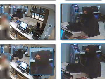 Police still searching for Burlington hotel robbery suspect
