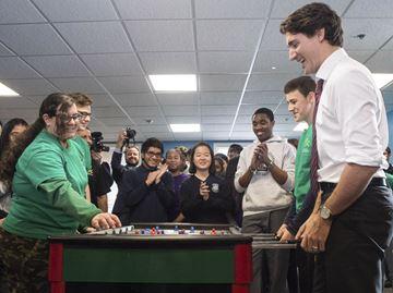 Trudeau announcement