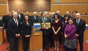 Town receives 'green' awards