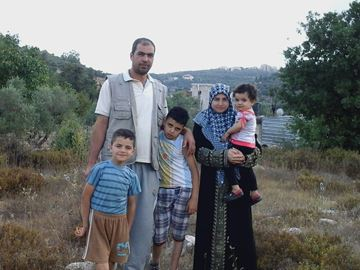 The Al Jalem family were forced from their home in Syria and are currently living in a basement in Lebanon.