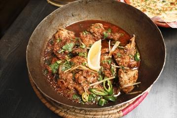 One of the signature dishes of the Karahi Boys restaurant, KBoys Chicken Karahi.  Oct. 17, 2018.