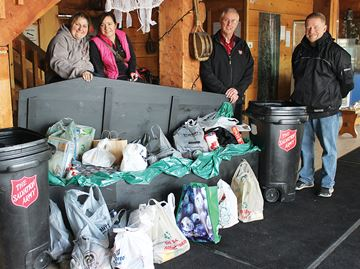 Nothing scary about 'Haunted Harbour' food donation