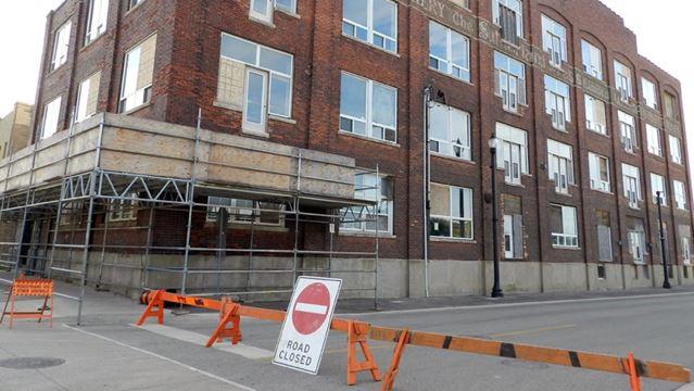 Sutherland causes street closure