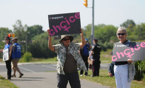 the two sides of abortion Two of the biggest advocacy organizations on either side of the abortion debate — planned parenthood and susan b anthony list — are making the fight to fill supreme court justice anthony kennedy's seat all about abortion.