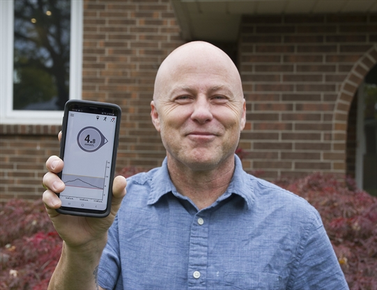 Technology a game-changer for St. Catharines man with diabetes