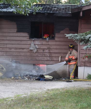 Family pet dies in Wasaga house fire