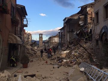 York Region Italian Canadians react to earthquake in Italy