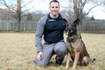 Pooch partner: Police service dog goes the distance