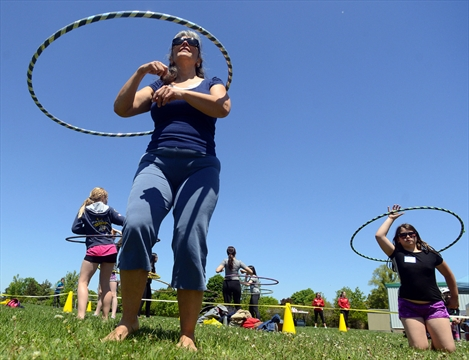 Hooping for a good cause