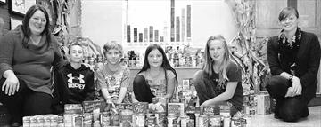 Catholic students launch creative 'Who I AM' food drive– Image 1