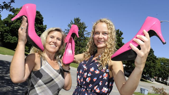 Hopes riding high for men at Hope in High Heels