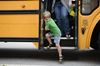 Milton students learn school bus safety