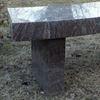 A bench for Yan Zhang