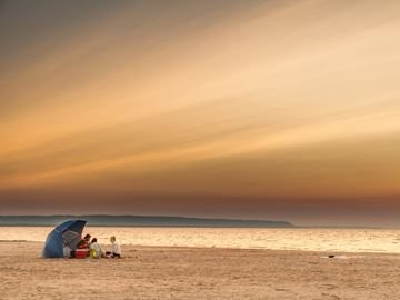 Wasaga Beach resident wins first place in a national photo contest celebrating Canada's beaches