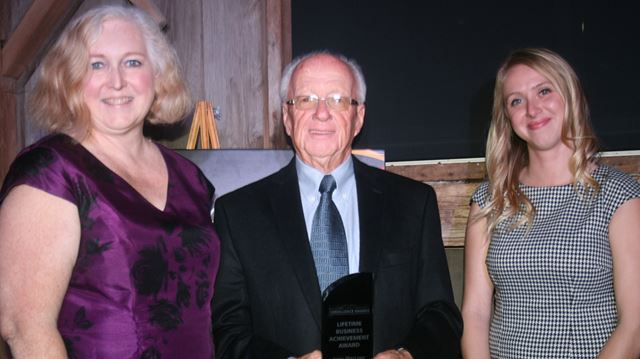 Lifetime business achievement award