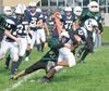 Midland's St. Theresa's High School erupts for 28 second-half points in junior football win