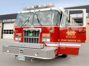 Halton Hills Fire Department calls