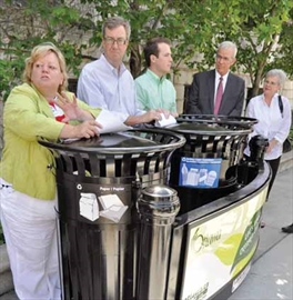 On-street recycling comes to Sandy Hill; City and local company unveil– Image 1