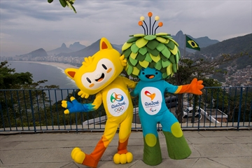 Rio Olympic mascot is a yellow cat-like figure-Image1