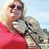 Meeting the alpacas in Uxbridge