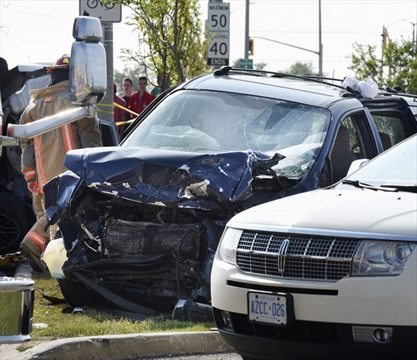 Car Crash In Paramount Ca