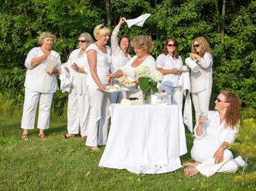 You're invited to Dinner in White in Innisfil