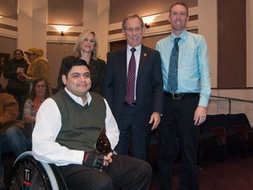 Accessibility advocate awarded top honours by province