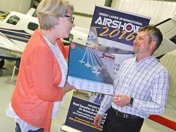 Airshow generosity