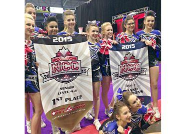 National cheerleading title