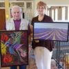 Artists at the Gibson hosting art show in Alliston
