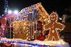 Sutton Santa Parade - Colourfully Lit Up