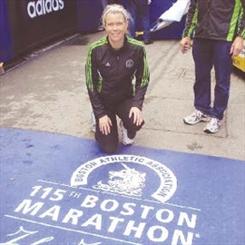 Greely teacher runs second Boston Marathon– Image 1
