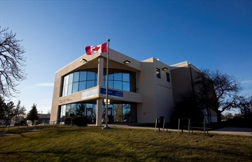 Niagara Peninsula Conservation Authority headquarters is shown in this file photo.