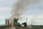 Large barn fire in Thorold