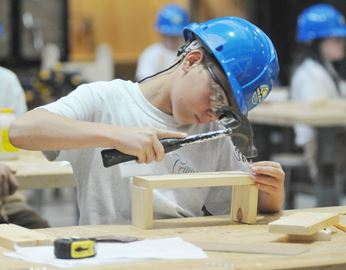 Tech It Up Skills Trades Camp