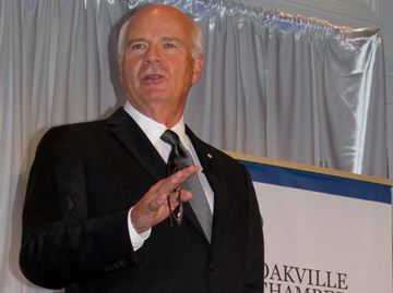 Update: Mansbridge draws full house for Oakville Chamber gala